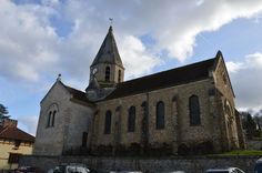 Eglise Saint-Denis te  Brueil-en-Vexin (Yvelines 78)