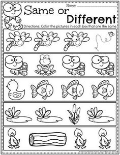 Looking for fun Pond Theme Preschool Activities for kids? Check out these 16 Hands-On Pond Theme Learning Activities and Crafts for Preschool or Kindergarten. Preschool Learning Activities, Preschool Lesson Plans, Free Preschool, Printable Preschool Worksheets, Free Kindergarten Math Worksheets, Worksheets For Preschoolers, Summer Worksheets, Toddler Worksheets, Landscape Plans