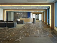 warm inside-situation in hard outside-spac  tl      Autodesk Corporate Offices - Rapt Studio