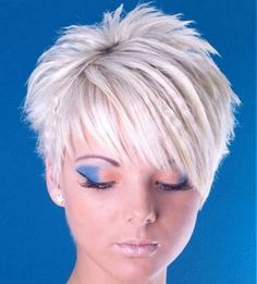 Short Hairstyles: Funky Short