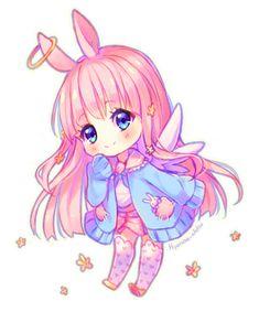 Commission - Angel bunny by Hyanna-Natsu on DeviantArt