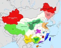 China People, China Map, Asia, Alternate History, Fantasy Setting, Cartography, Flags, Cities, Infographic