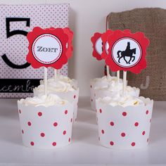 Sinterklaas Cupcakes >> printables verkrijgbaar in de shop !