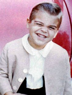 George Clooney. A Toddler. The squint in those eyes, the smile, well of course, it's George.