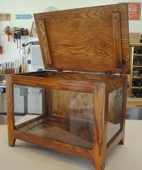 glass quilt display chest - Google Search