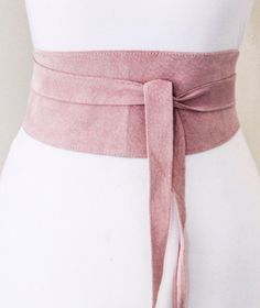 A personal favourite from my Etsy shop https://www.etsy.com/uk/listing/510278738/baby-pink-suede-obi-belt-corset-waist
