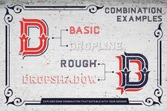 Dacota Layered Typeface + Extras by Heybing Supply Co. on @creativemarket