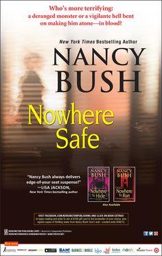 Nowhere Safe - by Nancy Bush