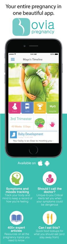 Your entire pregnancy week-by-week, all in one app! Find it here: http://www.ovuline.com/#ovia-pregnancy-app: http://www.ovuline.com/?pp=1