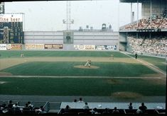 Connie Mack Stadium, Philadelphia, PA, June 1960 - Doubleheader action between the Pirates and Phillies in one of baseball great Shrines once known as Shibe Park - Baseball History Comes Alive! Phillies Baseball, Baseball Park, Baseball Pitching, Sports Baseball, Baseball Field, Baseball Players, Hockey, Sports Stadium, Stadium Tour