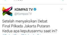 Kecuali MetroTV, Semua Hasil POLLING Debat Pilkada Anies-Sandi Menang