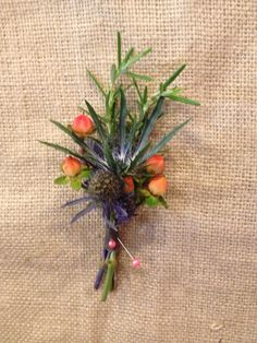Hypericum berries and thistle