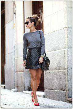 mini skirts and mini skirts : Photo