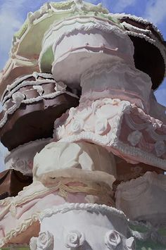 Will Cotton, Wedding Cake, 2010, oil on linen, 84 x 56 inches.