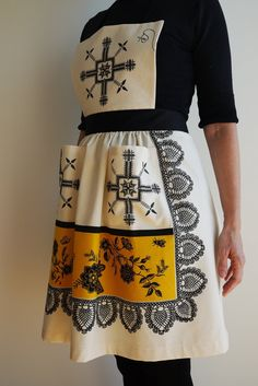 WOMEN'S APRON by annsommerfeldt on Etsy, €30.00