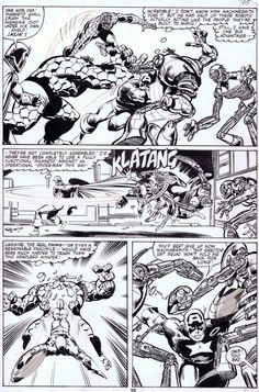 johnbyrnedraws:  Captain America #249, page 15 by John Byrne...