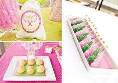 Preppy-francés-Open-Inspired-TENIS-rock-candy-Party