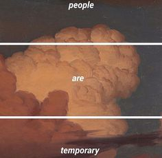 People are temporary
