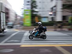 Urban Photography Theme - Pan Shot in the City - The Final Panning Shot Challenge in March - S100FS by hirosan, via Flickr