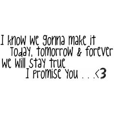 I Promise You by Selena Gomez Quote ❤ liked on Polyvore