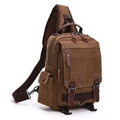 Kemrrey Canvas Casual Shoulder Bag Cross-Body Messenger B... https   76d749a525617