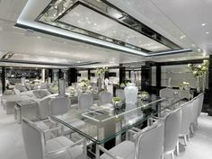 Amazing Dining Room - On the Yacht..