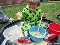 15 Fun Food Sensory Bin Ideas