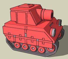 Orange Star Tank by Skyblufox