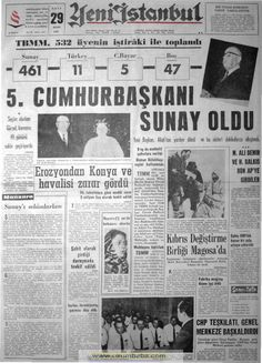 Yeni İstanbul gazetesi 29 Mart 1966
