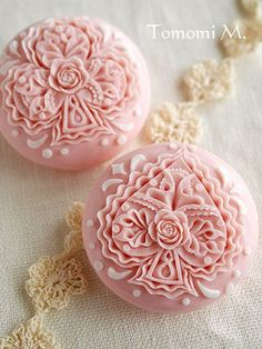 ソープカービングSoap carving#Soap flower