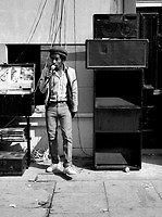 Sound System DJ at Notting Hill Carnival