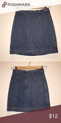 Freepeople skirt Fitted freepeople mini skirt Free People Skirts Mini