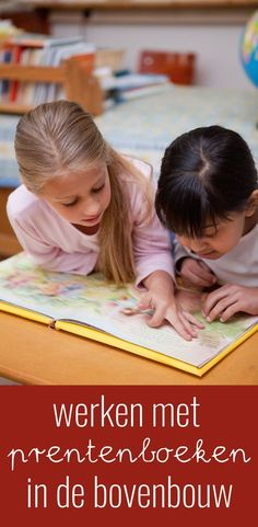 Werken met prentenboeken in de bovenbouw Kids Class, Close Reading, School Hacks, Kids Education, Writing Prompts, Spelling, Coaching, Teacher, Classroom