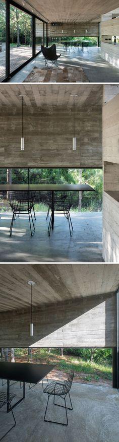 Esta moderna casa argentina está fabricada completamente de hormigón