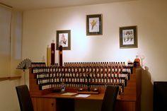 Perfume Organ at Galimard