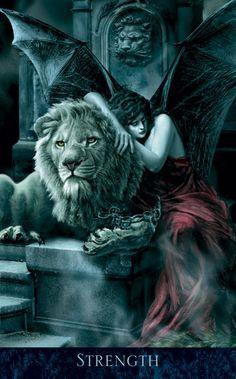 The Bohemian Gothic Tarot: Strength