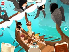 The Odyssey for kids! Great interactive tool to really solidify events and generate discussion!