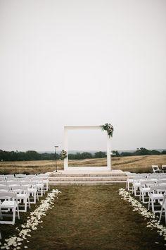 Texas weddings - photo by Rachel Meagan Photography http://ruffledblog.com/industrial-texas-wedding-with-romantic-minimalism