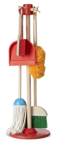 AmazonSmile: Melissa & Doug Let's Play House! Dust, Sweep and Mop: Melissa & Doug: Toys & Games