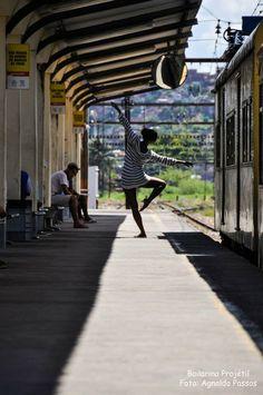 Ballet | Train Station | Bailarina Projétil by Taís Alves #ballerinaproject #ballet #dance