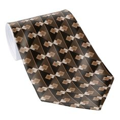Coffee and Chocolate Tie - modern gifts cyo gift ideas personalize