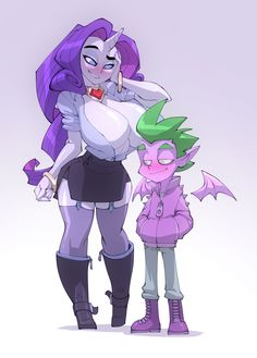 Rarity n' Spike, everybody. Rarity And Spike, Eyes On The Prize, Mlp Pony, Some Image, Simple Backgrounds, Bigger Breast, Artist Names, My Little Pony, Female