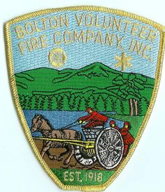 Bolton Fire Rescue patch