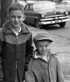 Dickensian youth - Wicker Park, Chicago ca. 1957