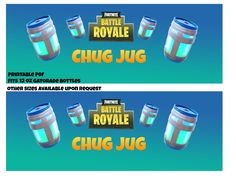 Chug Jug Printable Gatorade Bottle Labels 12 and 20 oz, Perfect for Fortnite Parties Birthday Party At Home, Birthday Party Games For Kids, Sleepover Birthday Parties, Twin Birthday, Birthday Ideas, Drink Labels, Bottle Labels, Boy Scout Crafts, Mermaid Invitations