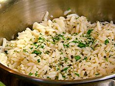 Perfect Rice recipe from Patrick and Gina Neely via Food Network