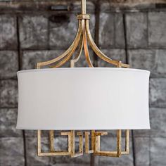 Le chic gold chandelier by Regina Andrew.