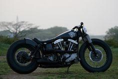 Hide Motorcycle   Harley Davidson Custom