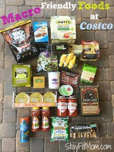 All the most macro friendly foods Costco has to offer! - 20 Macro-Friendly Recipes to Keep You on Track Macro Friendly Recipes, Macro Recipes, Macro Meal Plan, Macro Nutrition, Clean Eating, Healthy Eating, Healthy Life, Healthy Food, Counting Macros
