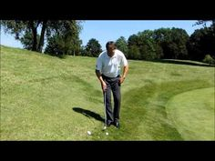How to Chip from a Downslope - Mark Wood Golf Academy - YouTube